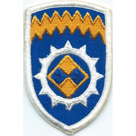 18th Medical Brigade Subdued  Embroidered US Army shoulder sleeve insignia - SSI