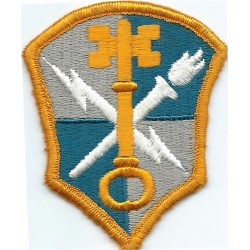 US Army Intelligence And Security Command Colour  Embroidered US Army shoulder sleeve insignia - SSI