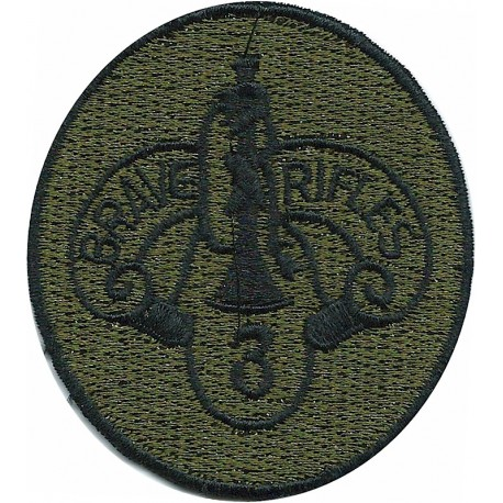 100th Infantry Division Colour  Embroidered US Army shoulder sleeve insignia - SSI