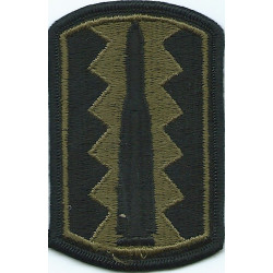 197th Infantry Brigade Subdued  Embroidered US Army shoulder sleeve insignia - SSI