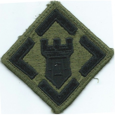 31st Air Defense Artillery Brigade Subdued Embroidered US Army shoulder sleeve insignia - SSI