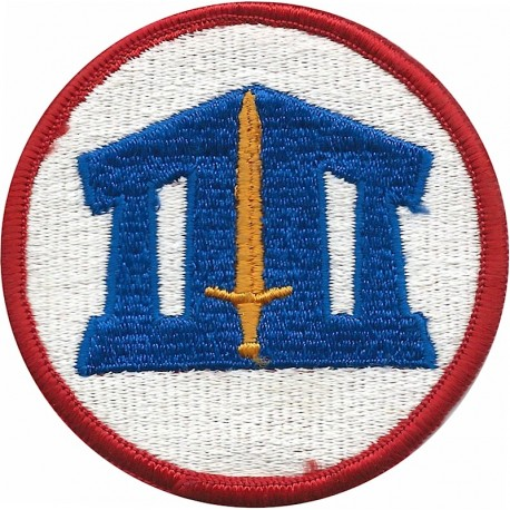 7th Medical Command Subdued  Embroidered US Army shoulder sleeve insignia - SSI