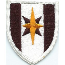 44th Medical Brigade Colour  Embroidered US Army shoulder sleeve insignia - SSI
