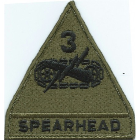149th Armored Brigade Subdued  Embroidered US Army shoulder sleeve insignia - SSI
