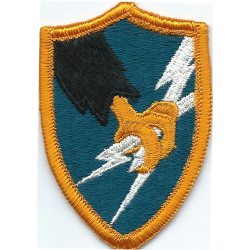 Army Security Agency Colour  Embroidered US Army shoulder sleeve insignia - SSI