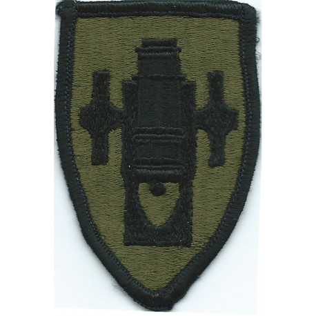 8th Medical Brigade Subdued  Embroidered US Army shoulder sleeve insignia - SSI