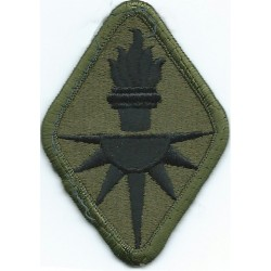 Military Intelligence Center And School Subdued  Embroidered US Army shoulder sleeve insignia - SSI