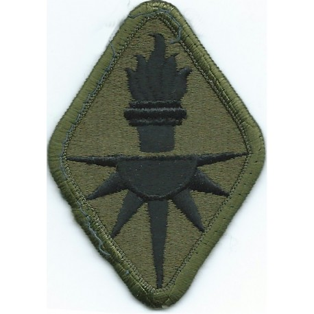 XVIII Airborne Corps (Without Airborne Tab) Subdued - FL  Embroidered US Army shoulder sleeve insignia - SSI