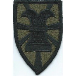 40th Infantry Brigade Subdued  Embroidered US Army shoulder sleeve insignia - SSI