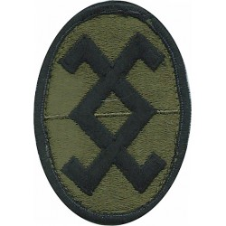 19th Expeditionary Sustainment Command (Korea) Subdued Embroidered US Army shoulder sleeve insignia - SSI