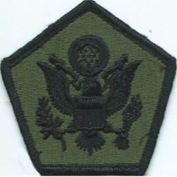 Medical Command Europe Subdued  Embroidered US Army shoulder sleeve insignia - SSI