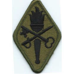 10th Infantry Division Subdued Embroidered US Army shoulder sleeve insignia - SSI