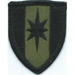 224th Field Artillery Brigade Subdued Embroidered US Army shoulder sleeve insignia - SSI