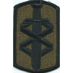 Air Defense School Subdued  Embroidered US Army shoulder sleeve insignia - SSI