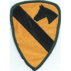 1st Cavalry Division (Airmobile) Colour  Embroidered US Army shoulder sleeve insignia - SSI