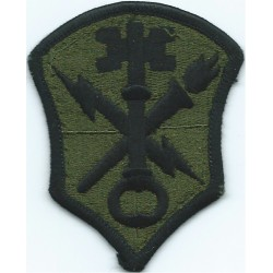 US Army Intelligence And Security Command Subdued  Embroidered US Army shoulder sleeve insignia - SSI