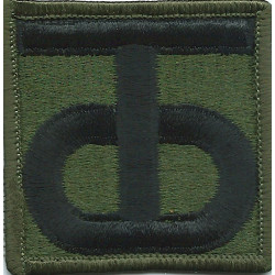38th Infantry Division Subdued  Embroidered US Army shoulder sleeve insignia - SSI