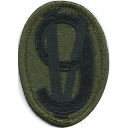 42nd Infantry Division Subdued  Embroidered US Army shoulder sleeve insignia - SSI