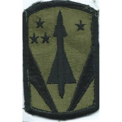 USATC Armor - Shoulder Tab Subdued Embroidered US Army shoulder sleeve insignia - SSI
