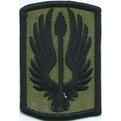 18th Aviation Brigade Subdued  Embroidered US Army shoulder sleeve insignia - SSI