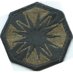 13th Sustainment Command (Expeditionary) Subdued  Embroidered US Army shoulder sleeve insignia - SSI
