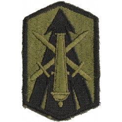 214th Field Artillery Brigade Subdued  Embroidered US Army shoulder sleeve insignia - SSI