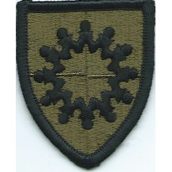 Medical Command Korea Subdued  Embroidered US Army shoulder sleeve insignia - SSI