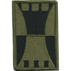 416th Engineer Brigade Subdued  Embroidered US Army shoulder sleeve insignia - SSI