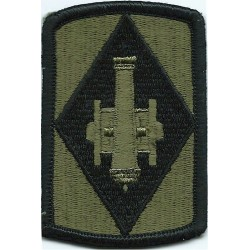 75th Field Artillery Brigade Subdued  Embroidered US Army shoulder sleeve insignia - SSI