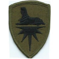 Army Intelligence Command Subdued  Embroidered US Army shoulder sleeve insignia - SSI