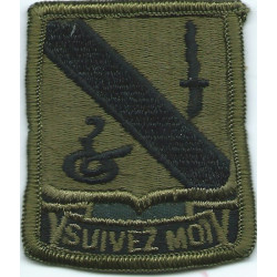 14th Armored Cavalry Regiment Subdued  Embroidered US Army shoulder sleeve insignia - SSI