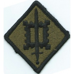 18th Engineer Brigade Subdued  Embroidered US Army shoulder sleeve insignia - SSI