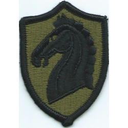 107th Armored Cavalry Regiment Subdued  Embroidered US Army shoulder sleeve insignia - SSI