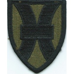 1st Support Brigade Vietnam Subdued  Embroidered US Army shoulder sleeve insignia - SSI
