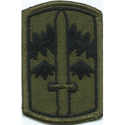 171st Infantry Brigade Subdued  Embroidered US Army shoulder sleeve insignia - SSI