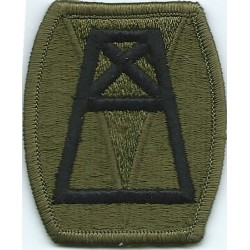 156th Quatermaster Command Subdued  Embroidered US Army shoulder sleeve insignia - SSI