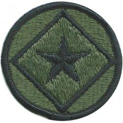 122nd Army Reserve Command Subdued  Embroidered US Army shoulder sleeve insignia - SSI