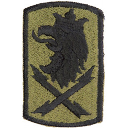 22nd Signal Brigade Subdued  Embroidered US Army shoulder sleeve insignia - SSI