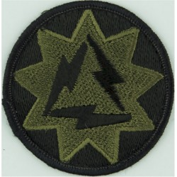 93rd Signal Brigade Subdued  Embroidered US Army shoulder sleeve insignia - SSI