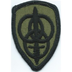 3rd Personnel Command Subdued  Embroidered US Army shoulder sleeve insignia - SSI