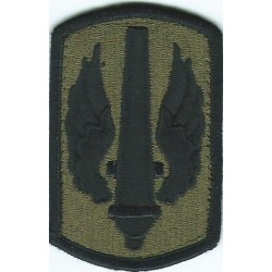 18th Field Artillery Brigade Subdued  Embroidered US Army shoulder sleeve insignia - SSI