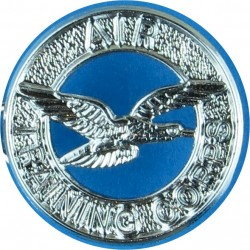 Air Training Corps Brooch-Pin Fitting  Chrome-plated Lapel or sweet-heart badge
