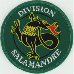 Division Salamandre (French) Multi-National Division Incl Foreign Legion  Woven Balkan War memorabilia