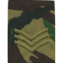FANY Junior Cadet Ensign (First Aid Nursing Yeomanry On Camouflage  Embroidered NCO or Officer Cadet rank badge