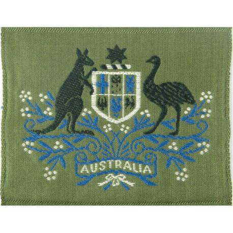 Warrant Officer Class 1 - Australian Army On Jungle Green  Woven Warrant Officer rank badge