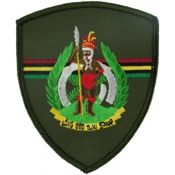 Sergeant Major Of The Army Of Vanuatu - Full Dress South Pacific  Embroidered Warrant Officer rank badge