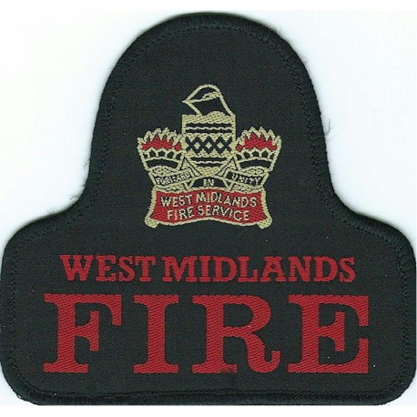 Rank Badge: Leading Fire-Fighter 1 Thick Bar Chrome-plated Fire and Rescue Service insignia