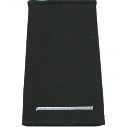Rank Slide: Leading Fire Control 1 Thin Bar  Embroidered Fire and Rescue Service insignia