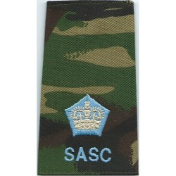 FANY Ensign (First Aid Nursing Yeomanry (PRVC)) On Camouflage  Embroidered Officer rank badge