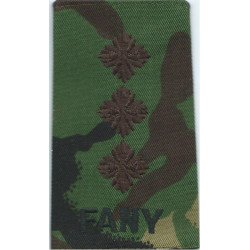 FANY Captain (First Aid Nursing Yeomanry (PRVC)) DPM Camo Rank Slide  Embroidered Officer rank badge